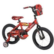 41cm Huffy Disney Cars Boys' Bike with Tool Kit