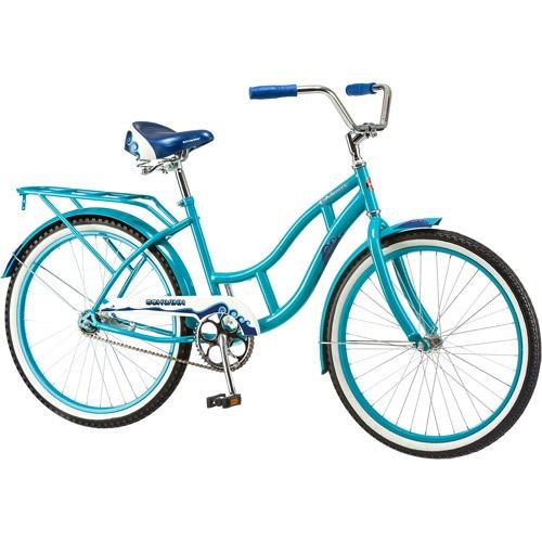 60cm Schwinn Delmar Girls Cruiser Bike Aqua Blue By Schwinn Shop