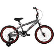 46cm Kent, Abyss, FS18, BMX, Boys' Bike, Silver