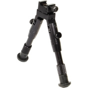 UTG Shooter's SWAT Bipod, Rubber Feet, Height 16cm - 17cm