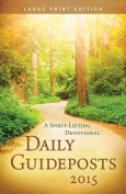 Daily Guideposts  [Large Print]