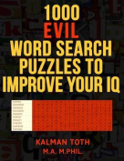 1000 Evil Word Search Puzzles to Improve Your IQ