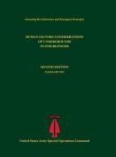 Human Factors Considerations of Undergrounds in Insurgencies