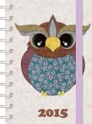 Fashion Diary Owl A6 Diary