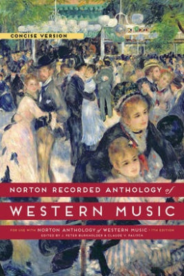 Norton Recorded Anthology of Western Music, Concise Version