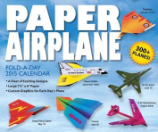 Paper Airplane Fold-A-Day Day-To-Day Calendar