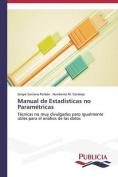 Manual de Estadisticas No Parametricas [Spanish]