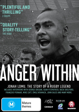 Anger Within: Jonah Lomu - A Rugby Legend
