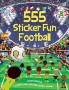 555 Sticker Fun Football
