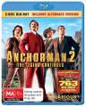 Anchorman 2 [2 Discs] [Region B] [Blu-ray]