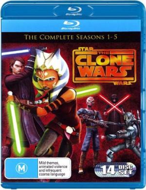 Star Wars: The Clone Wars - Seasons 1- 5
