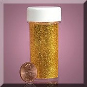 Sparkling Glitter Tube (Gold) for Crafts