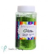 Craft Glitter Shaker Apple Green for Craft & Decorations 470ml