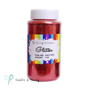 Craft Glitter Shaker RED for Craft & Decorations 470ml