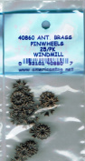 American Tag Lost Art Treasures (40860) Brass Pinwheel Windmill