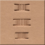 """Springfield Leather Company's """"Standard"""" Basketweave, 3 Piece Stamping Tool Set"""