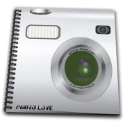 InspirationzStore Camera graphic - Silver Camera square design - unique novelty gift for photography fans and photographers - Drawing Book