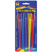 Montrose Colours - Craft Brush Set - 10/Pkg