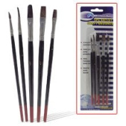 Artist's Preference 5 Pc Artist's Brushes