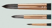 2 Round Jackson's Black Hog Bristle Brush