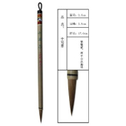 0.6x2.5cm Middle Shanshui Landscape Wolf Hair Shuangyang Chinese Calligraphy and Painting Brush