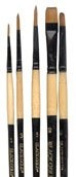 Black Gold Synthetic Sable Bg Set 4