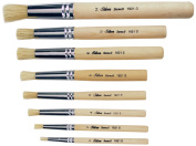 Silver Brush Limited SI-1808S 8-Piece Silver Stencil Brush Set