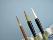 Basic Chinese Painting Brushes for Beginners, Set of 3