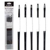 Artists Acrylic Brushes- Set of 5 by Winsor & Newton