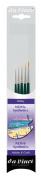 Da Vinci 4237 Nova Miniature 5 Brush Set for Spotting, Retouching or Detail Work