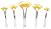 Royal Aqualon Wisp Artist Paint Brushes 5pc Fan Set