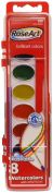 RoseArt 8-Colour Washable Watercolours with 1 Paintbrush, Packaging May Vary