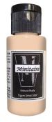 Badger Air-Brush Company, 60ml Bottle Minitaire Airbrush Ready, Water Based Acrylic Paint, Humanoid Flesh