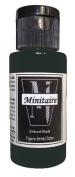 Badger Air-Brush Company, 60ml Bottle Minitaire Airbrush Ready, Water Based Acrylic Paint, Coal