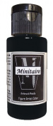 Badger Air-Brush Company, 60ml Bottle Minitaire Airbrush Ready, Water Based Acrylic Paint, Raven Black .
