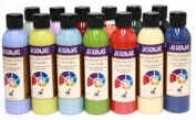 Jo Sonja's Background Colour 180ml Bottle - Charcoal