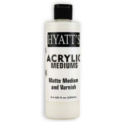 Hyatt's Acrylic 240ml Matte Varnish
