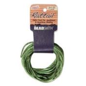 Rayon Satin Rattail 1mm Cord - Knot & Braid - Dark Olive Green