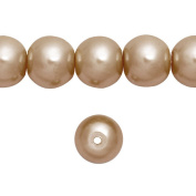 1 Strand Bronze Glass Pearl Spacer Round Loose Beads Fit Necklace Bracelets Wholesale 8x8x8mm 110pcs GP0003-27