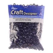 Pony Beads, Opaque Navy, 480pc Pkg