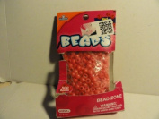 Bag of Red Pony Beads for Jewellery Making