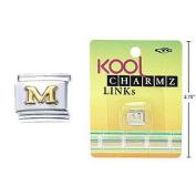 "Kool Charmz Links Letter ""M"""