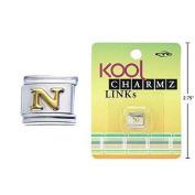 """Kool Charmz Links Letter """"N"""""""