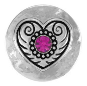 Ginger Snaps HEART OF DIXIE SN01-02 Interchangeable Jewellery Snap Accessory