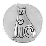 Ginger Snaps CAT FANCY SN20-02 Interchangeable Jewellery Snap Accessory