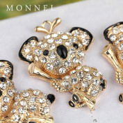 H05 Cute Wholesale Crystal Koala Bear Pendant Charm