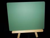 30cm Wood Tripod Easel wit 9 x 12 Green Chalkboard