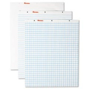 UNV35602 Recycled Easel Pads, Quadrille Rule, 27 x 34, White, 50-Sheet 2/Ctn
