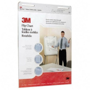 3M Flip Charts, 60cm x 80cm , White, 40 Sheets/Pad, 2 Pads/Carton MMM570