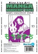 Manga Manuscript Paper (21cm . X 30cm .) Blank 90# Beginner